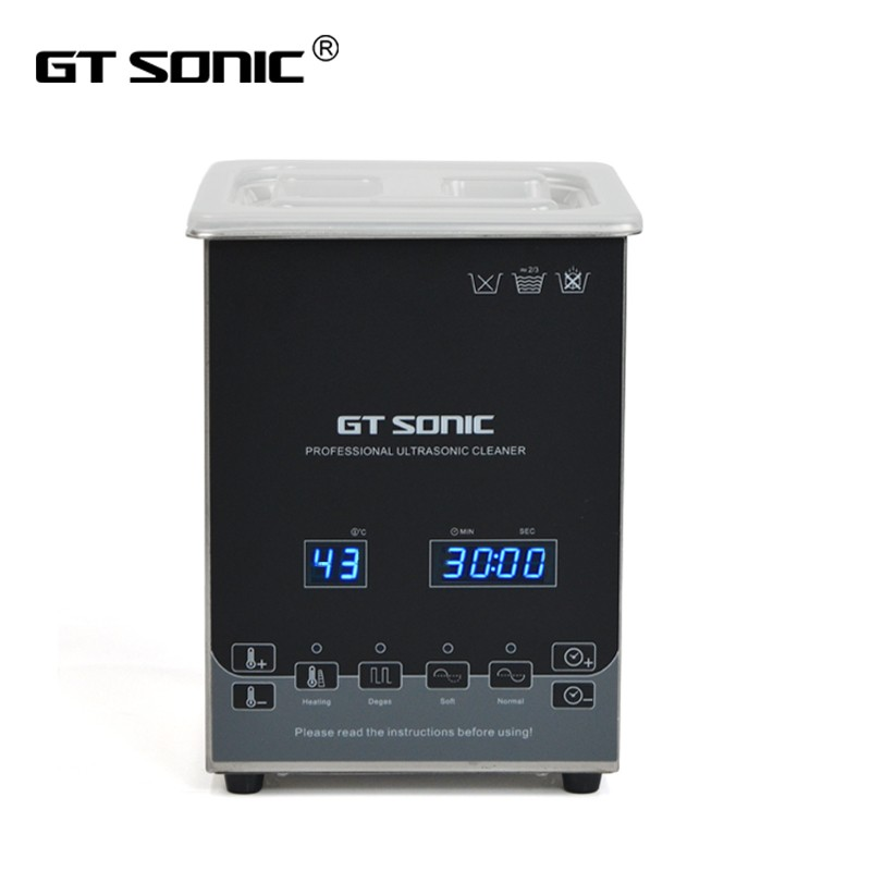 GT SONIC-D2 Digital Jewelry Ultrasonic Cleaners 2L